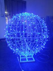 christmas balls outdoor sphere ball light hanging waterproof led foldable shopping