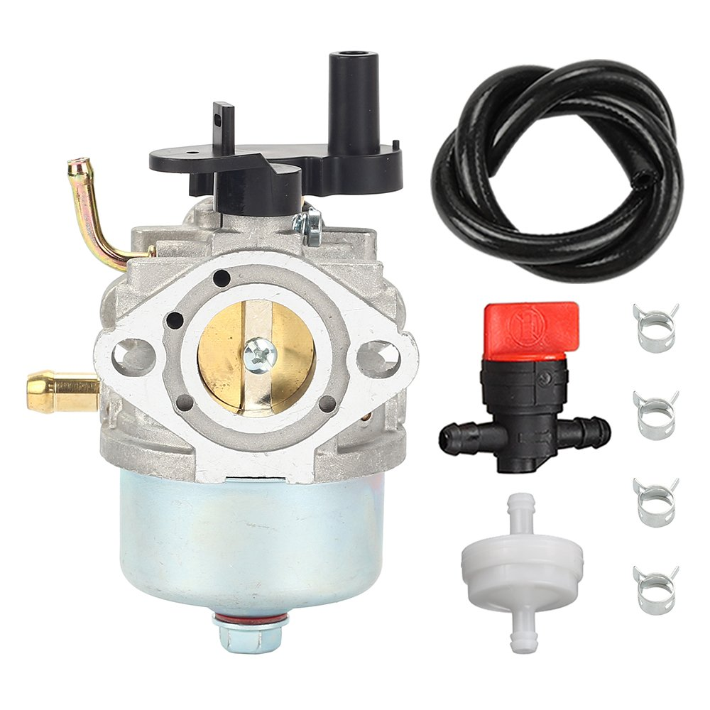 hight resolution of get quotations ccr2450 carburetor with fuel filter line valve for toro 210 221 powerclear snowblower briggs stratton