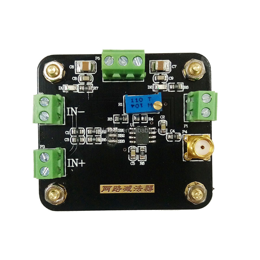 Op Amp Differential Amplifier Balanced Input Op Amp Circuit 3