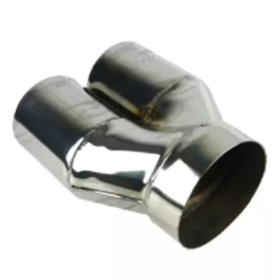 304 stainless steel exhaust tips tyrt 400 y piece stepped double walled straight cut in 4 out 3 1 2 l exhaust tips buy exhuast muffler 304