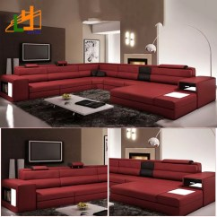 Gold Leather Sofa Set High Quality Manufacturers Uk Alibaba Supplier Modern Design L Shaped Genuine Furniture Luxury For Living Room