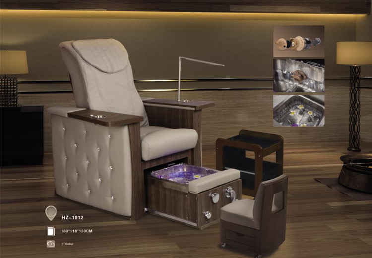Luxury Beauty Spa Pedicure Chair  Nail Bench  Foot