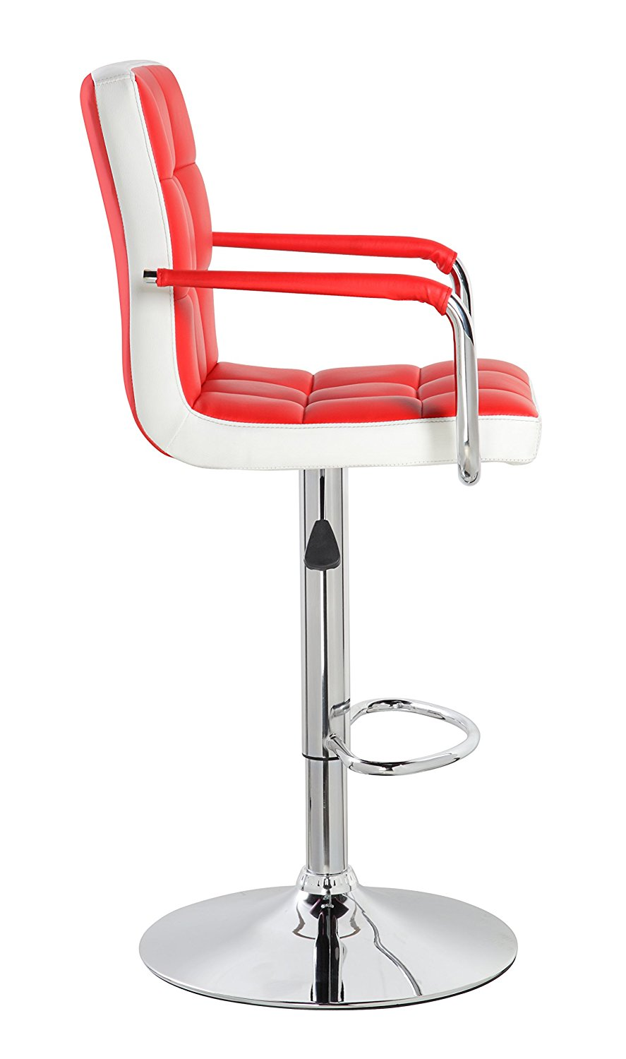 Modern Leather Contemporary Swivel Adjustable Height Bar Stools With Backs And Arms Red Buy Norman Cherner Replica Bar Stool Bar Stool For Heavy People Bar Stool Replacement Seats Product On Alibaba Com
