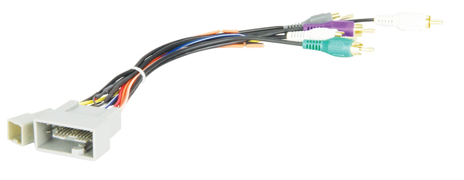 hight resolution of get quotations scosche radio wiring harness for 2008 up honda amplified system harness