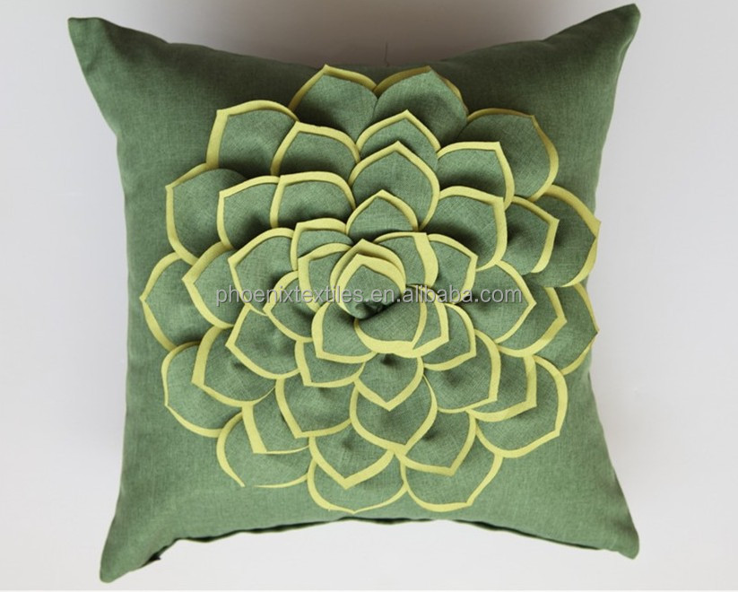 Embroidery Designs Decorative 3d Pillow Cover  Buy