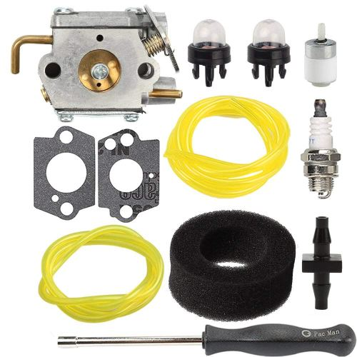 small resolution of get quotations savior carburetor wt 827 1 with air filter fuel line screwdriver for troy
