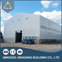 Metalen Dak Magazijn Building Borstwering Muur Ontwerp