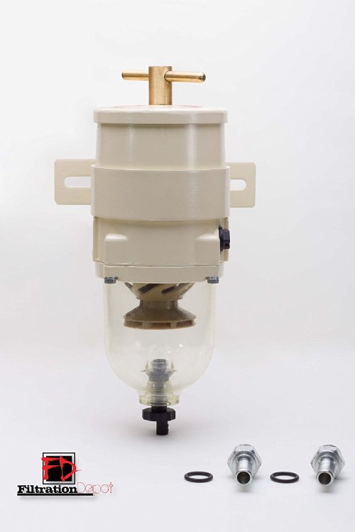 small resolution of get quotations racor 500fg equivalent fuel filter water separator