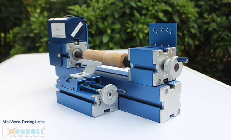 Mini Woodturning Lathe Machine Metal Woodworking Diy Tool