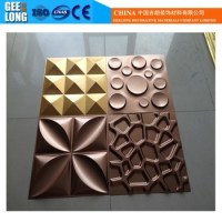 Textured Gypsum 3d Wall Panels