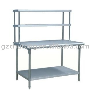 stainless steel kitchen table wholesale supplies working with shelf buy