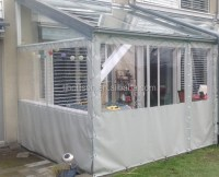 Crystal Clear Vinyl Tarps 20 Mil For Patio Enclosure And ...