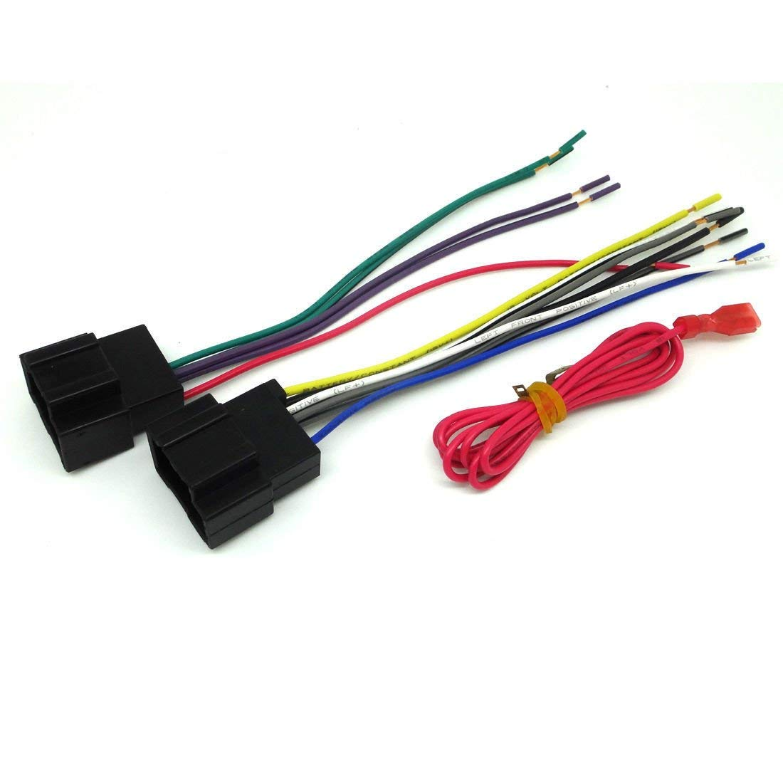 hight resolution of get quotations for gm car stereo cd player wiring harness wire aftermarket radio install plug 2007 2011