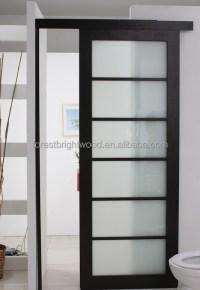 Modern Laminated Glass Hotel Bathroom Sliding Door Design ...