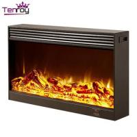 Quality First Electric Fireplace Mantel Imitation ...