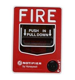 notifier nbg 12lx fire alarm addressable pull station key lock [ 1500 x 1000 Pixel ]