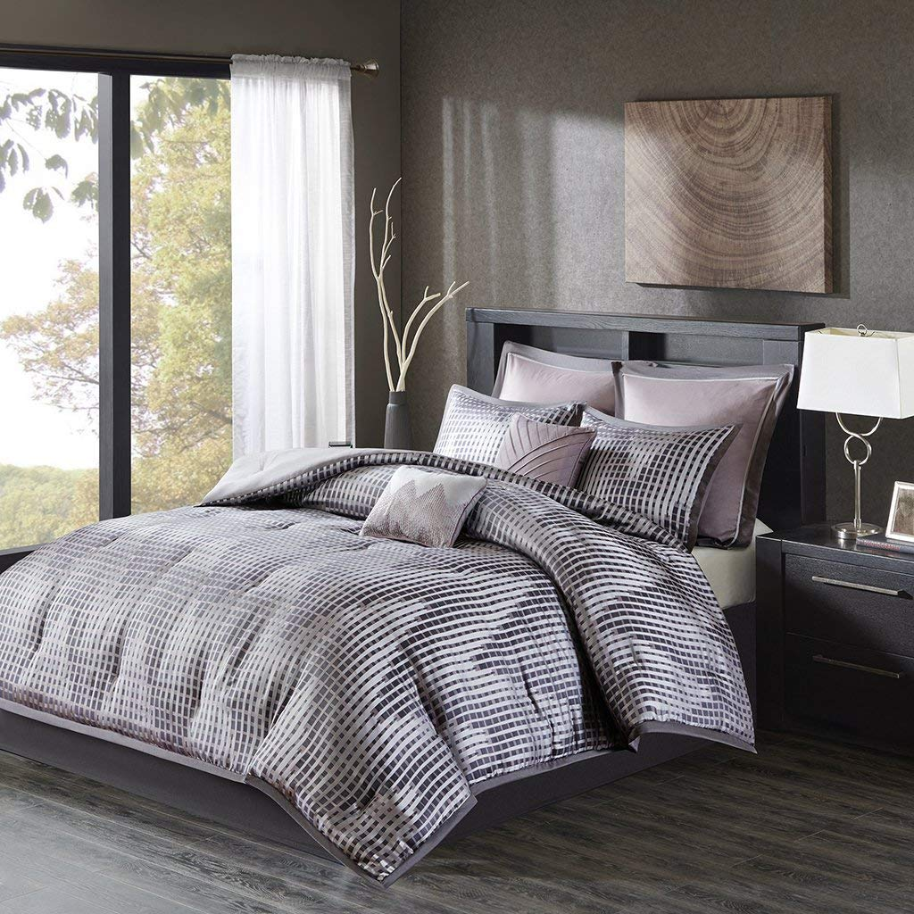 cheap grey comforter set king find