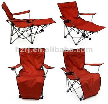beach chairs with footrest high chair philippines red folding camping - buy outdoor footrest,folding deck ...