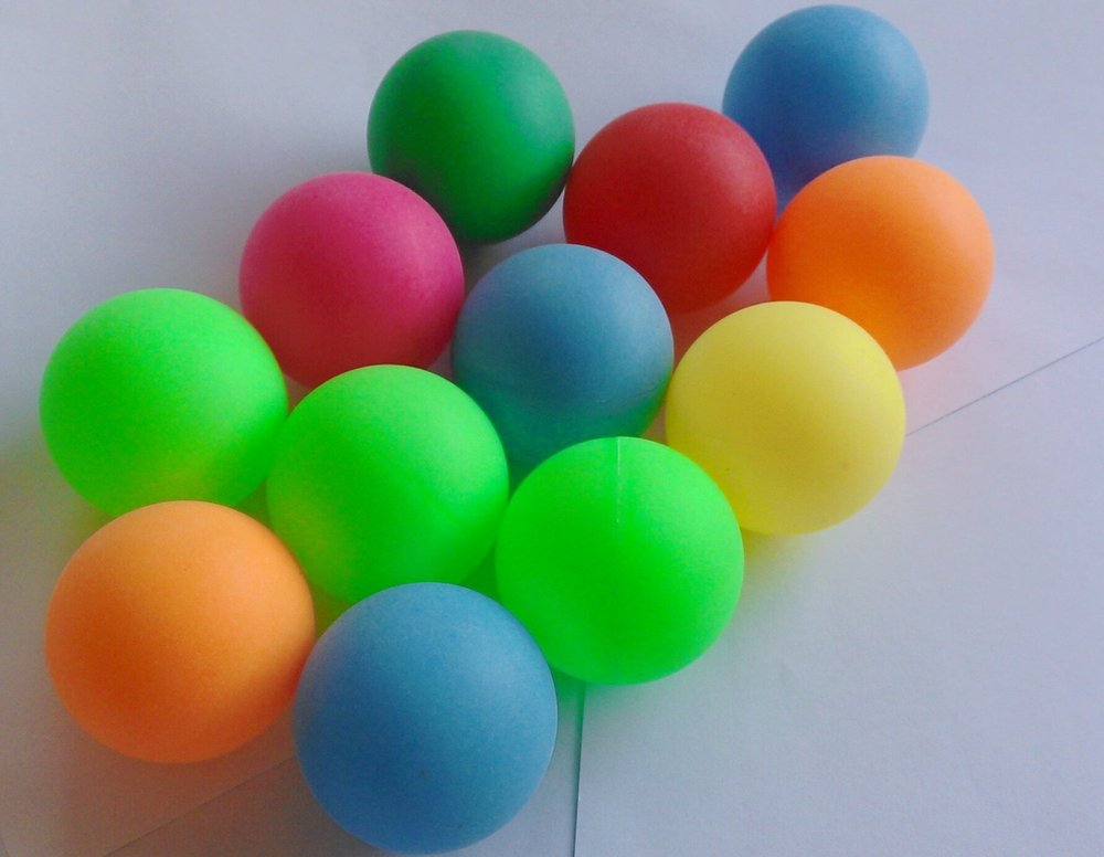 Multicolour Plastic Bulk Packed Ping Pong Ball  Buy