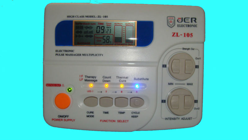Muscle Stimulation Device Circuit With Pic16f84 Electronic Circuits
