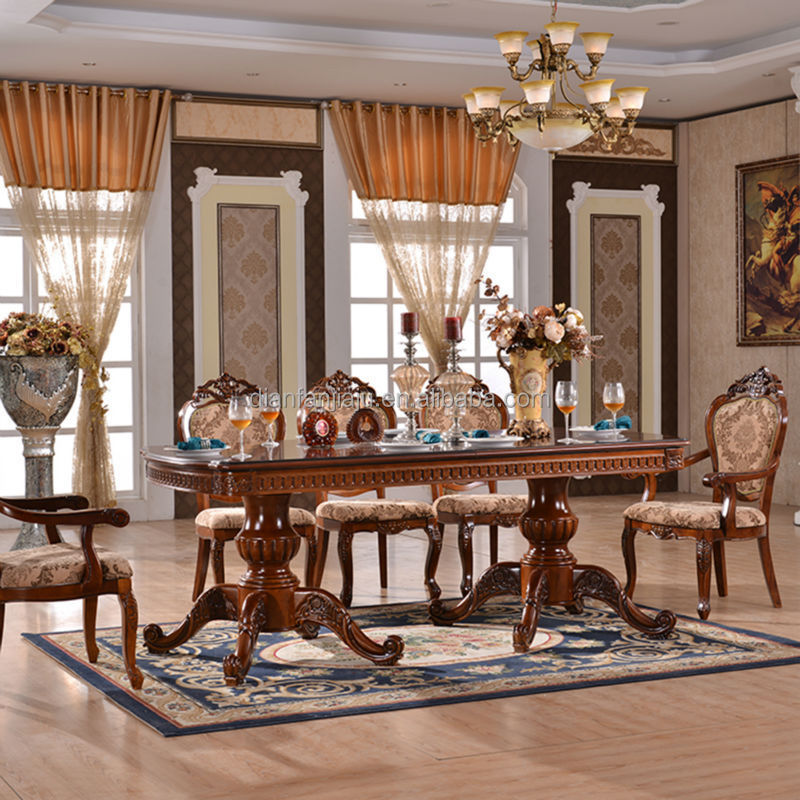 Wooden Dining Table Set For Dining RoomDining Table