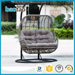Wicker Hammock Chair Restaurant Table And Chairs Adult Kids Rattan Swing Hanging Double Seater
