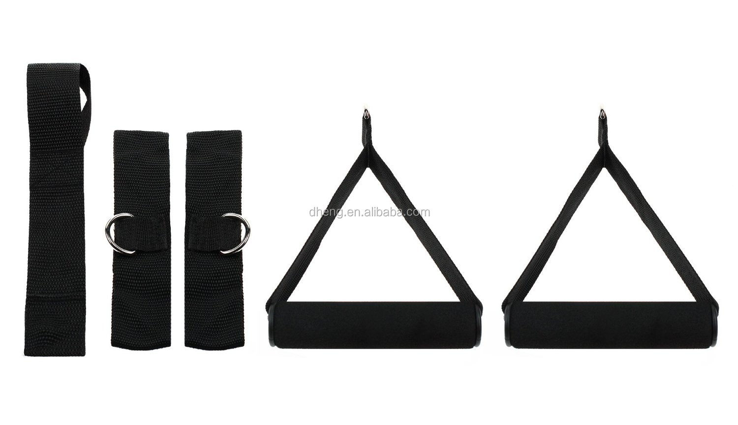 New 5 Resistance Bands Set For Yoga Abs Amp Gym Workout