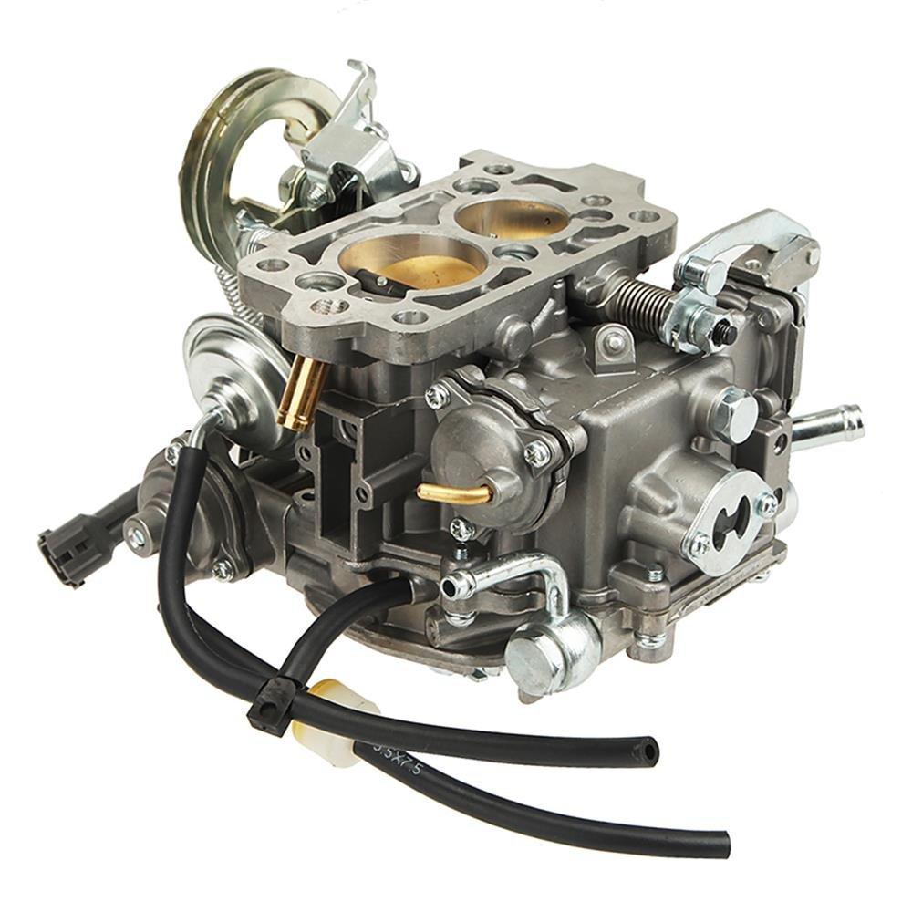 hight resolution of auxmart carburetor for toyota 22r engine 21100 35520