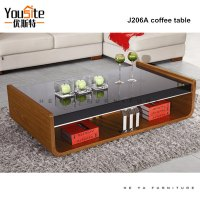 Italian Wooden Center Tables Glass Top Center Table Design