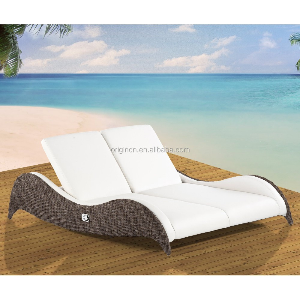 modern outdoor lounge chair canada folding desk with arms cozy design rattan chaise furniture double sunbeds for beach