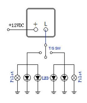 Auto Led Flasher Electronics Flasher 12v 24v 150w 20a Wm