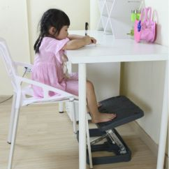 Chair Stool With Footrest Steel Spacers Ergonomic Office Under Foot Rest /angle Adjustable - Buy ...