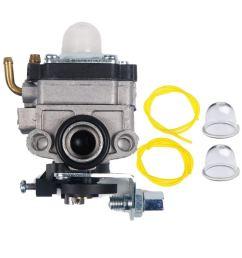get quotations 753 04745 753 04296 753 1225 carburetor primer bulb fuel line kit for [ 1000 x 1000 Pixel ]