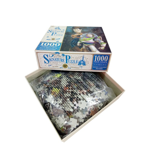 Custom Paper Sublimation Jigsaw Puzzle 10000 Pieces - Piece