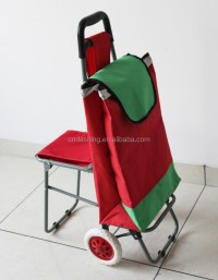 Folding Shopping Carts With Seat Chair - Buy Shopping Cart ...