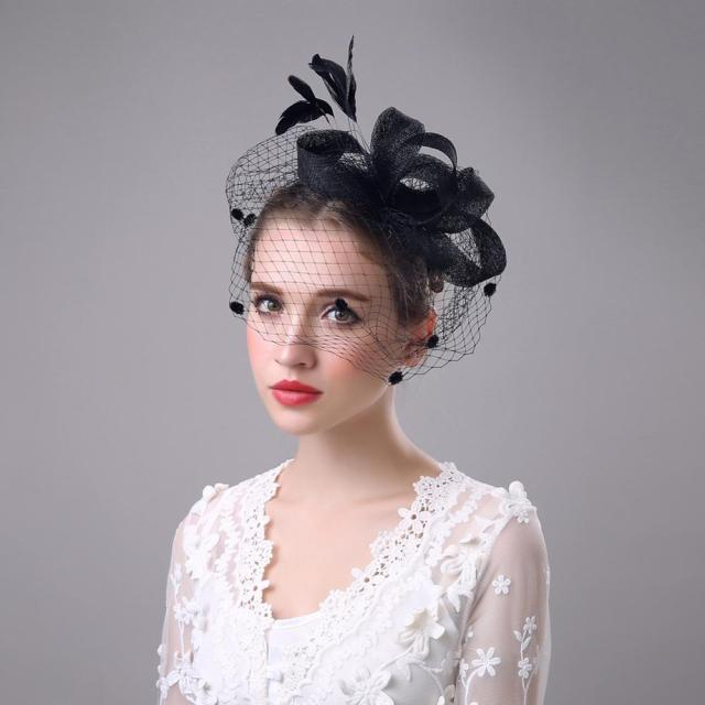 korean wedding hair accessories net yarn flowers hairpins head pin showgirl headdress - buy headdress,hair accessories,headdress flowers product on