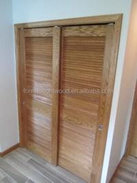Traditional Sliding Closet Louver Door - Buy Closet Door ...