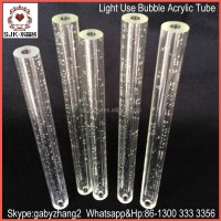 Bubble Acrylic Tube For Decoration,Acrylic Pipe For Lamps ...
