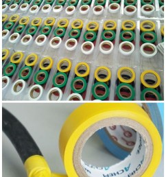 flame retardant pvc automotive electrical insulation wrapping wire harness tape [ 820 x 2320 Pixel ]