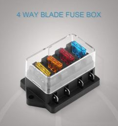 get quotations vgeby fuse block 4 6 8way blade fuse box holder block for car [ 1001 x 1001 Pixel ]