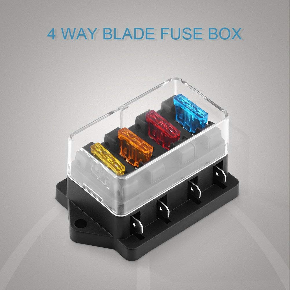 hight resolution of get quotations vgeby fuse block 4 6 8way blade fuse box holder block for car