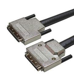 get quotations usac scsi 68p plug vhdci w thumb screw  [ 1024 x 1024 Pixel ]