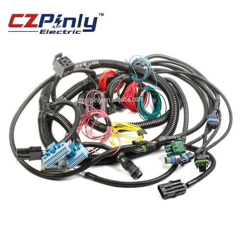 small resolution of dump truck power switch wiring starter harness