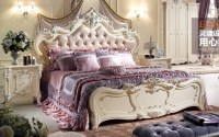 Pink Bedroom Sets/bedroom Set Gold/white Bedroom Furniture ...