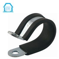 Customized Rubber Lined Hose Clamps / Metal Pipe Fixing ...