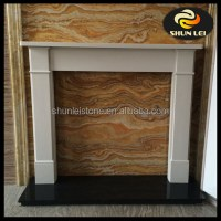 Antique White Marble Fireplace Mantel Surround - Buy ...