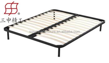 simple double reine taille dernieres conceptions de lit en metal dans le lit de latte en