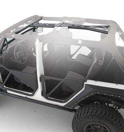get quotations opar roll cage kit for 07 17 jeep wrangler jk 2 door  [ 1500 x 820 Pixel ]