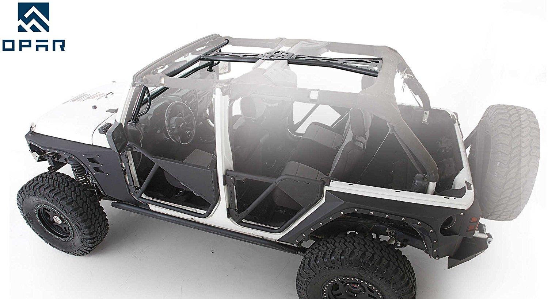 hight resolution of get quotations opar roll cage kit for 07 17 jeep wrangler jk 2 door