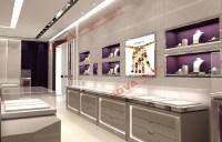 Luxury Jewelry Cabinets Furniture Shop Aluminium Hall Wall ...